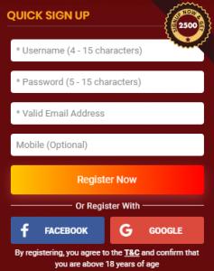 Taj Rummy online playing game and make money