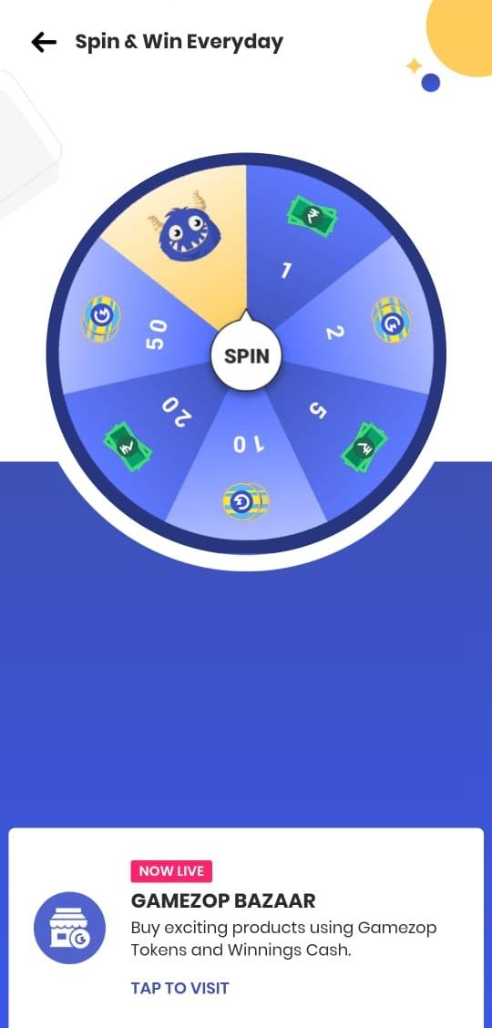 gamezop spin wheel